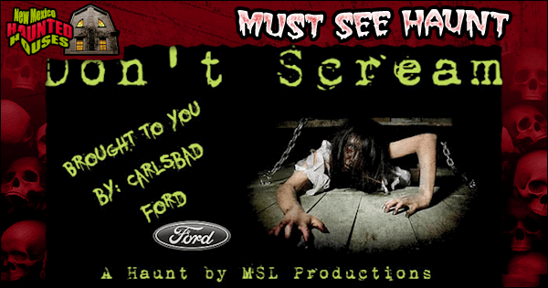 Ford Town Carlsbad Nm >> Don T Scream New Mexico Haunted Houses